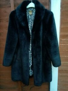 Beautiful Black BIBA Faux Fur Cost UK 14