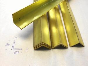 Messingwinkel 30 x 30  Profile Abschnitte MODELLBAU Bastelmaterial Messing Reste