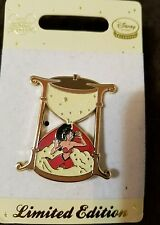 UK Disney Store Europe PRINCESS JASMINE IN A SAND TIMER Aladdin LE 150 Pin