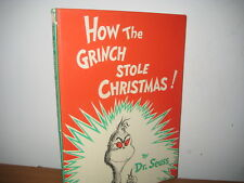 Dr. Seuss/ How the Grinch Stole Christmas/  hardback/Collins publisher/1957