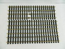 Aristocraft G Scale 2ft Brass 2' Straight Track Train 5 Sections 10 Feet Total