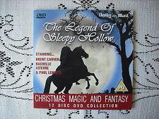 D/MAIL PROMO DVD - KIDS  ADVENTURE MOVIE  -THE LEGEND OF SLEEPY HOLLOW