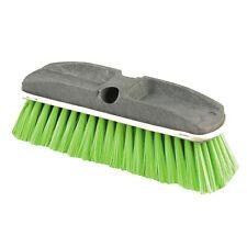 Synthetic-Fill Wash Brush, 10 Yellow Plastic Block