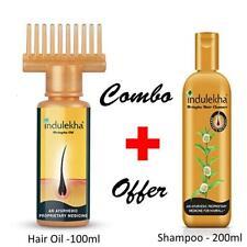 Indulekha bringha hair cleasner100ml + 100 ml Indulekha Bringha Hair Oil COMBO