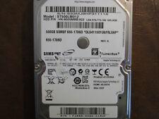 """Samsung ST500LM012 HN-M500MBB/A22 REV.A DGT Apple#655-1786D 2.5"""" 500gb Sata HDD"""