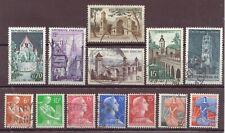 France, Issues of 1954 - 1967, Used, OLD