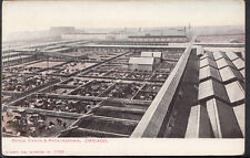 America Postcard - Stock Yards & Packingtown, Chicago  C1284