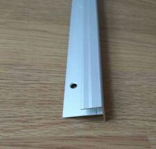 Alu 120cm F form Treppenkantenprofil Treppenwinkel Treppenprofil Laminat treppen
