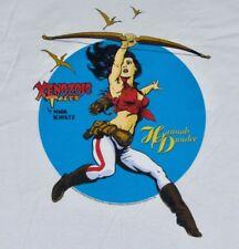 Xl * Nos vtg 90s 1994 Xenozoic Tales hannah dundee comic book t shirt