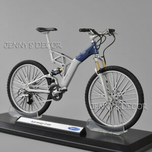 Welly 1:10 Scale Diecast Metal Bicycle Model Toy Audi Design Cross Sport Bike