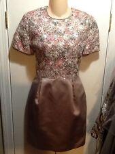 JONATHAN TAIT/Neiman Marcus vintage lace, sequin satin cocktail dress 6