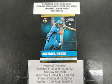 2016/17 CRICKET TAP N PLAY GOLD CARD NO.073 MICHAEL NESER ADELAIDE STRIKERS