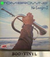 Tom Browne No Longer I - Vinyl LP Record - Jazz Funk Ex Con