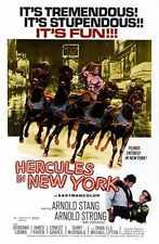 Hercules à New York Poster 01 A3 Box Toile imprimer