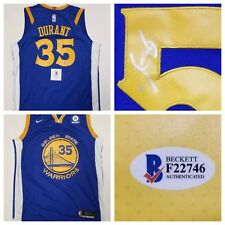 Kevin Durant Signed Auto Golden State Warriors Jersey Beckett COA + Hologram fea003c2071