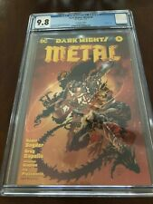 Dark Nights Metal #6 Boutique Edition Gold Foil - Wonder Woman Cover - CGC 9.8