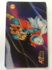 Dragon Ball Z Dbz Card Italienne Prism 3D Carte N 12 Santal Collection