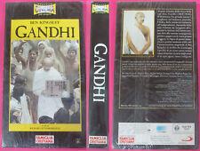 VHS film GANDHI 2000 Ben Kingsley Richard Attenborough SIGILLATA (F107) no dvd
