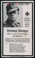 STERBEBILD - DEATH CARD -  gefallen am D-Day 06.Juni 1944 Normandie / Frankreich