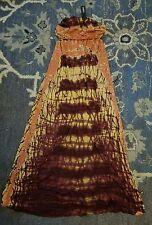 Gypsy 05 Maxi Dress Skirt NWT Small Brown Orange Tie-dye XS Jersy bamboo