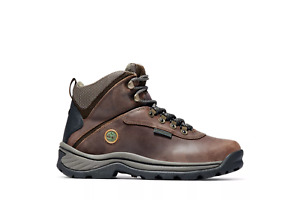 Women's Timberland White Ledge Mid Waterproof Dark Brown Hiking Boots TB012668 M