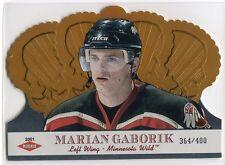 2000-01 Crown Royale 127 Marian Gaborik Rookie 364/400