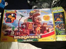 Grand IMAGINEXT T-Rex Mountain Plus Extras très ancien RARE NEW SEALED IN BOX