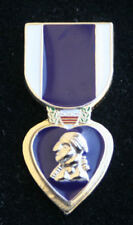 PURPLE HEART MEDAL HAT PIN US MARINES ARMY AIR FORCE NAVY COAST GUARD TIE TAC