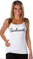 All Sport Couture Womens NFL Seattle Seahawks Double Team Shirt NWT Pick Size
