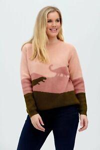 Laverne Jumper - Dinosaur Sugarhill Brighton Eco Fashion