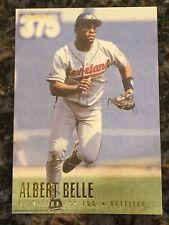 1996 Fleer ALBERT BELLE Cleveland Indians 83, Near Mint