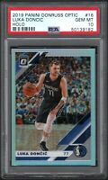 2019 Panini Donruss Optic Holo #16 Luka Doncic Mavericks PSA 10 GEM MINT