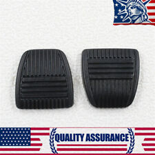 New 2 PCS OE # 3132114020 Rubber Brake Clutch Pedal Pad Cover For Camry Corolla