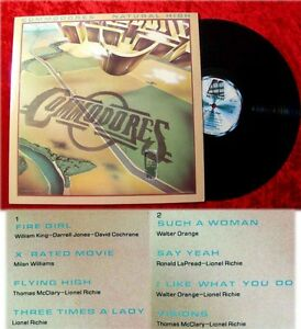LP Commodores: Natural High (1978)