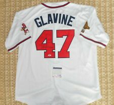 Tom Glavine Autographed Signed Adult Jersey MLB Atlanta Braves Authentic