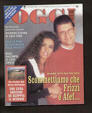 OGGI 46/1999 AFEF JALISSE VALENTINO ROSSI HAKKINEN FRANCESCA NERI COLLANT ARWA