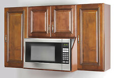 Maple Microwave oven  wall cabinet set