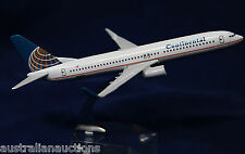 CONTINENTAL BOEING 737-80 AIRLINES  DIECAST  PLANE MODEL 1:400 16cm + STAND #28