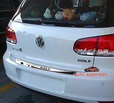Rear Bumper Protector/scuff plate For VW GOLF 6 MK6 2009 2010 2011 2012