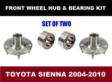 Toyota Sienna Front Wheel Hub and Bearing Kit Assembly 2004-2010  SET OF TWO