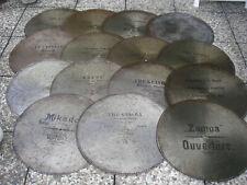 """15 Polyphon Mikado 62,5cm Platten Kalliope Spieluhr antique music disc 24 1/2"""""""