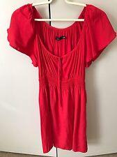 Sportsgirl Dress SiZe 8 Red