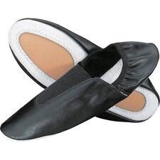 chaussons de gymnastiques, ballerines ANNIEL 2024-N, en cuir, Noir en 44