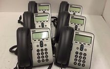 (Lot of 6) Cisco CP-7912G Unified VoIP Phones - 30 Day Warranty