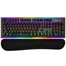 Rosewill Teclado Mecânico para Jogos RGB com Switches kailh Azul Neon K75 V2