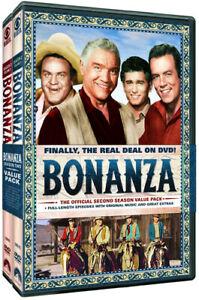 Bonanza: The Official Second Season Volumes 1 & 2 [New DVD] Full Frame