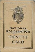 VINTAGE: NATIONAL REGISTRATION IDENTITY CARD 1940 (WELLINGBOROUGH)