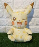 Pikachu 20th Anniversary Winking Pikachu Plush TOMY SOFT TOY *FAST & FREE POST*