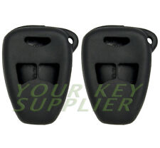 2 New Silicone Cover Protective Cases for Dodge Chrysler Jeep 3 Btn Remote Keys