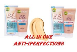 GARNIER BB Cream Pure Active All in One Combination Skin  SPF15  50 ml